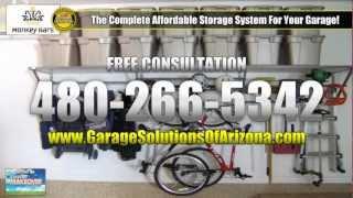 Monkey Bars Garage Storage System