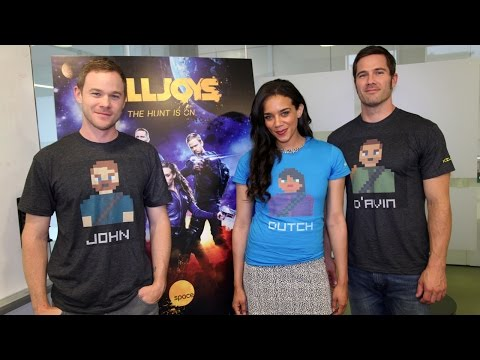 'Killjoys' stars Aaron Ashmore, Luke Macfarlane & Hannah John-Kamen