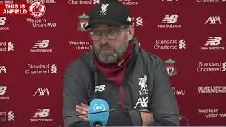 2019 - Klopp on 'Super League' and Champions League expansion plans