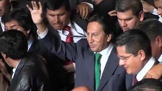 El expresidente peruano Alejandro Toledo detenido en Estados Unidos