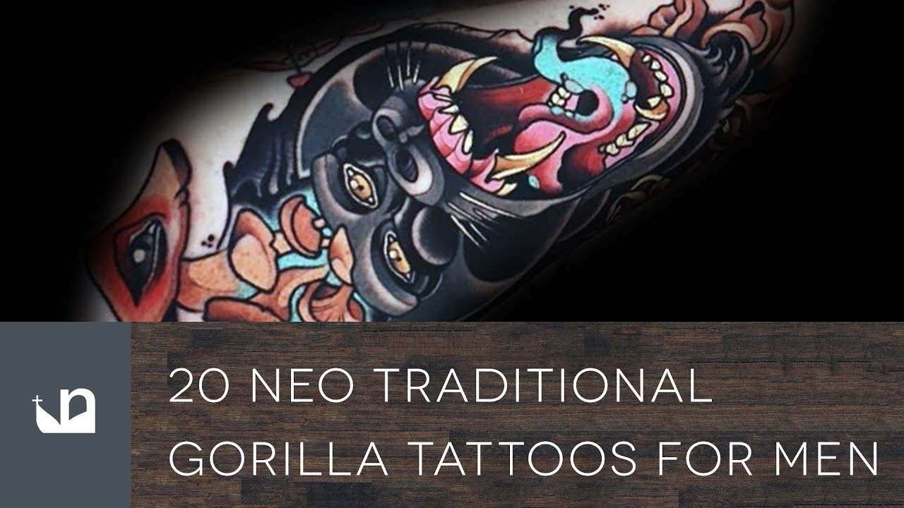 Neo Traditional Tattoo Designs For Men