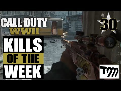 Call of Duty WW2 - TOP 10 KILLS OF THE WEEK #30 (COD Top Plays)