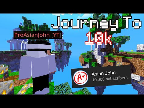 Asian John | Mobile Journey To 10k | + Voice Reveal (10k Subscriber Special)