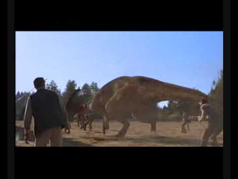 the lost world jurassic park hunters vs parasaurolophus