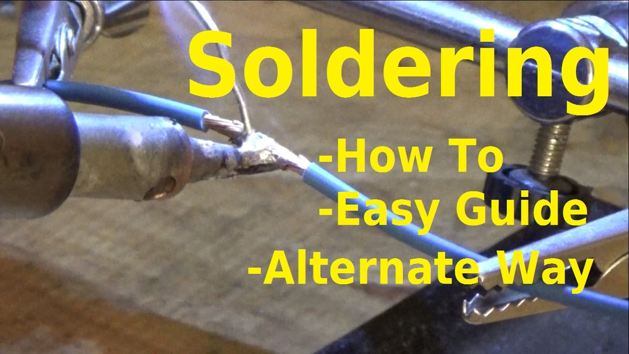 How To Solder Wires - Wire Repair