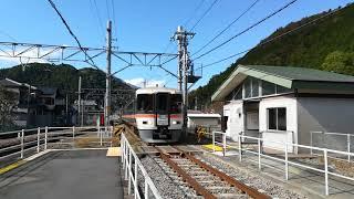 JR身延線 特急ふじかわ 十島駅