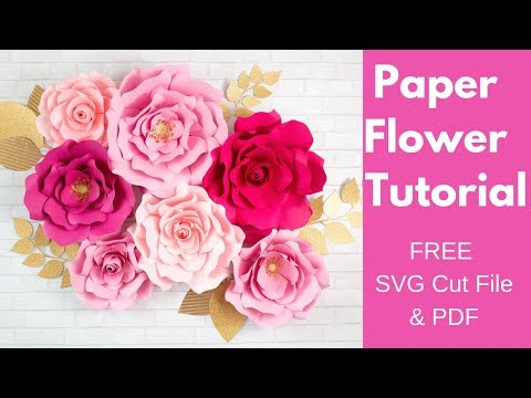 Incredible DIY Paper Flower Rose Tutorial