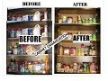 African Kitchen cabinet/pantry Organization || Marie Kondo || Basic to Bombshell