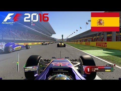 F1 2016 - 100% Race at Circuit de Barcelona-Catalunya in Sainz' Toro Rosso