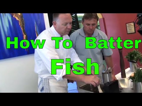 How To Batter Fish | The Hook And The Cook