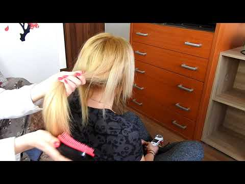 Hair brush and scratch*ASMR