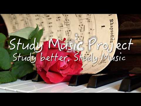 ️🎼️ 🎵 2 HOUR Long BEST RELAXING PIANO Music PLAYLIST for Study and Work (from Study Music Project)