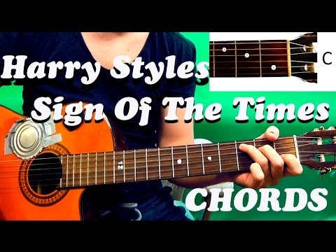 Guitar chords: Harry Styles – Sign Of The Times - YouTube