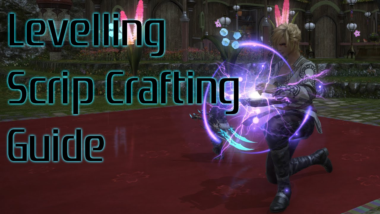 FFXIV Collectible Crafting Levelling Rotaton (Using level 50 crafter skills  - Non specialist)