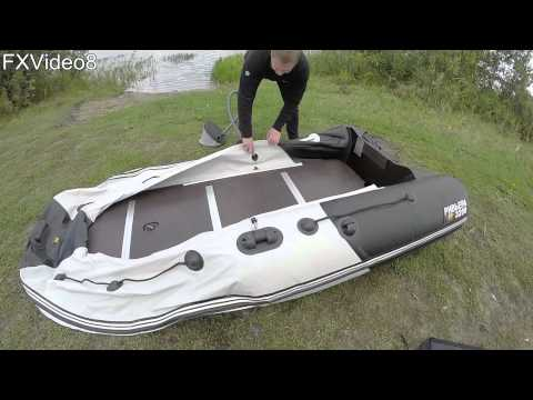 Сборка лодки Ривьера 3200