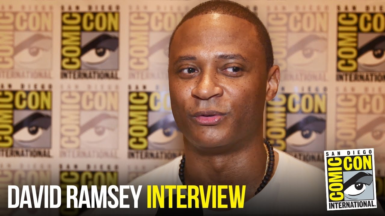 "David Ramsey Talks ""Arrow"" / ""Batwoman"" Crossover and Directing Season 7 Episode at Comic Con 2018"