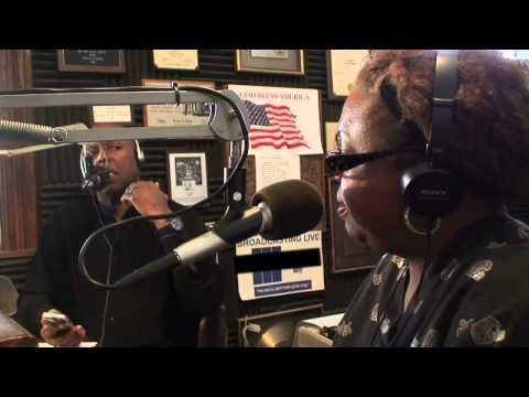 Dr  Richmond on the Radio
