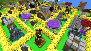 CLASH OF CLANS IN MINECRAFT?!