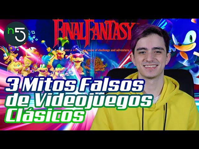 3 Mitos Falsos de Videojuegos Clásicos | Gaming En Cinco | En5.mx