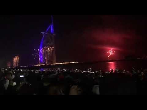 CH HASSAN CELEBRATING HAPPY NEW YEAR IN DUBAI BURJALARAB