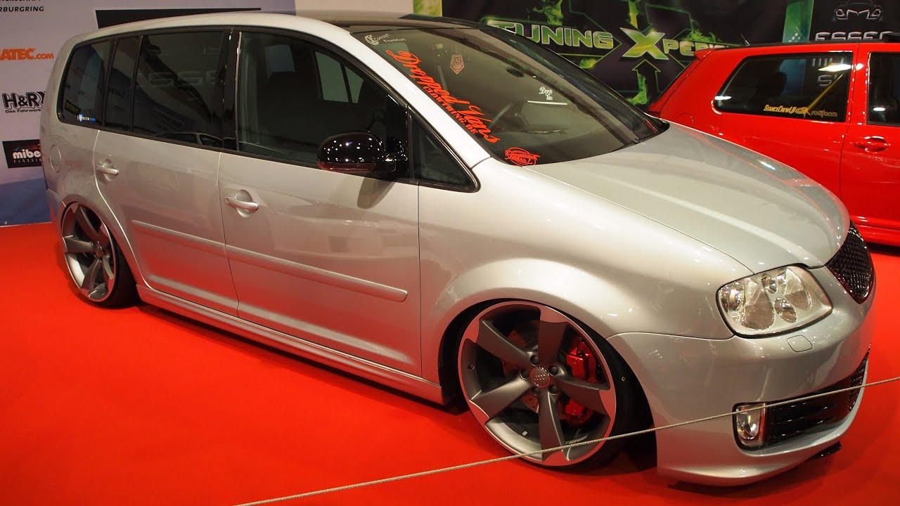Volkswagen Touran 1t1 Tuning At Essen Motorshow Exterior