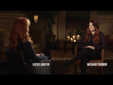 Meghan Trainor Goes Backstage With Kathy Griffin