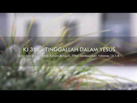 KJ 356 Tinggallah Dalam Yesus - GKI Coyudan (Lyric Video)