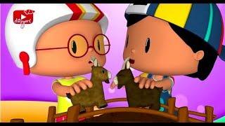 Pepee İnatçı Keçi - Pepee Şuuut ve Baskeet Oynuyorum - Çocuk Şarkıları & Çizgi Film | Düşye