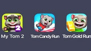 Talking Tom Candy Run - NEW UPDATE #7 COMPLETED CANDY SHOP  Android Gameplay New Characters Unlocked