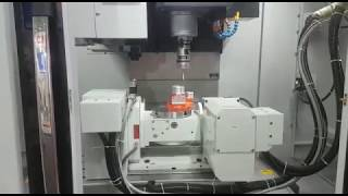 Cosmos - CVM 800 with Renishaw Probing with 5th Axis