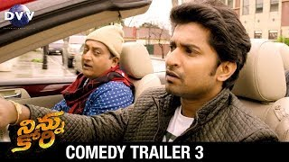 Ninnu Kori Telugu Movie Comedy Trailer #3 | Nani | Nivetha Thomas | Aadhi | DVV Entertainments