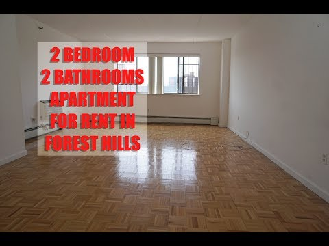 Modern 2 bedroom 2 bathroom apartment for rent in Forest Hills, Queens, NYC