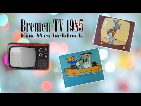 Radio Bremen Fernsehen 1985 - ein kompletter Werbeblock