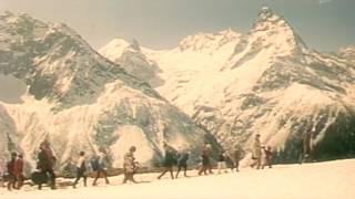 Нарезка о Домбае из фильма Выкуп 1986