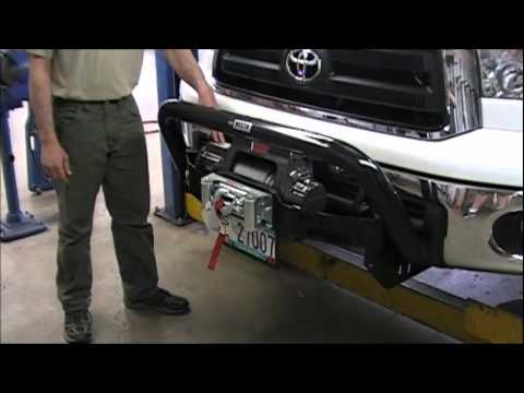 Sorc Video Blog Westin Max Winch Mount On Toyota Tundra