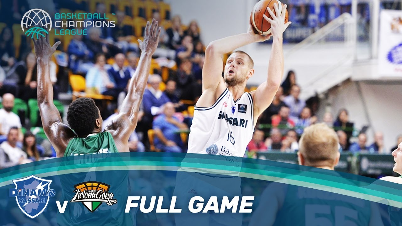 Dinamo Sassari v Zielona Gora - Full Game - Basketball ...