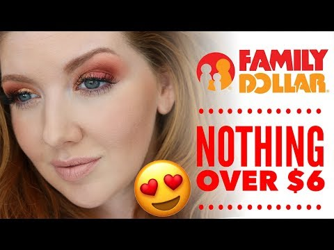 Family Dollar Makeup Review | Nothing Over $6!