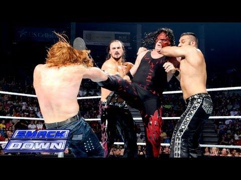 Kane vs. 3MB - 3-on-1 Handicap Match: SmackDown, Aug. 9, 2013