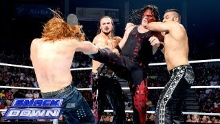 Kane vs. 3MB - 3-on-1 Handicap Match: SmackDown, Aug. 9, 2013