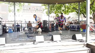 SF INDIAN MARKET SWAIA 2019 - STORY OF TRICKSTER -TONY DUNCAN & FAMILY – HOOP DANCE