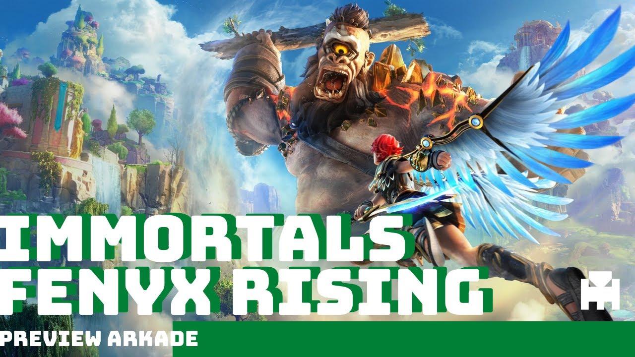 Immortals Fenyx Rising - 30 minutos do game