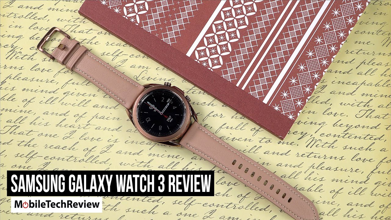 Samsung Galaxy Watch 3 Review - MobileTechReview