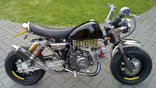 Tuned Monkey Bike Top Speed