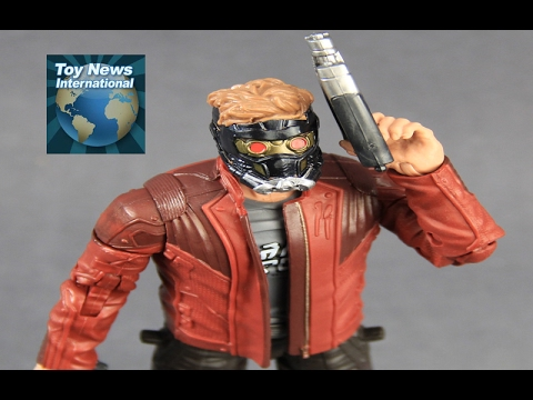 """Marvel Legends 6"""" Guardians Of The Galaxy Vol. 2 Star Lord Figure Review"""