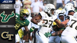 South Florida vs. Georgia Tech Condensed Game | ACC Football 2019-20