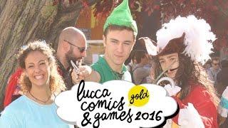LUCCA COMICS 2016! Le avventure di Peter Pan!