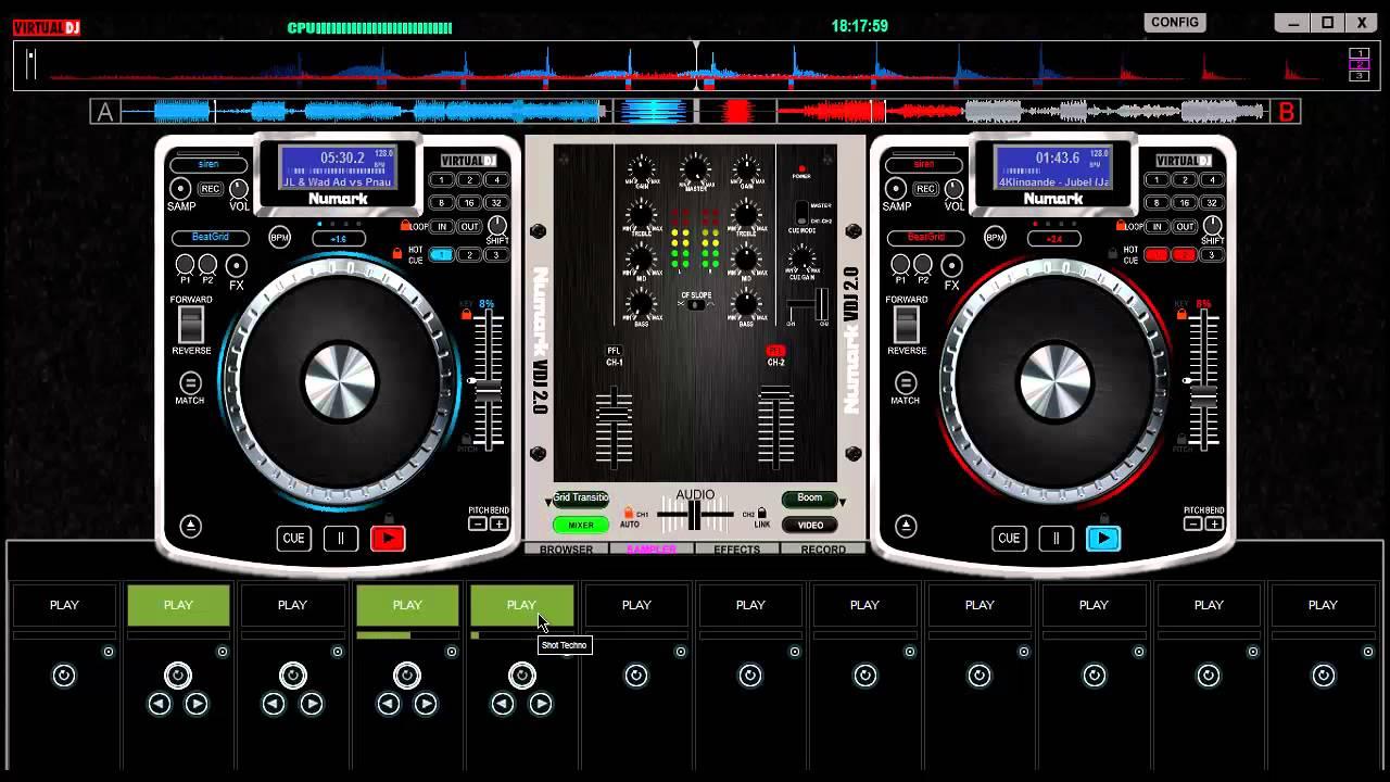 dj virtual 2013 clubic