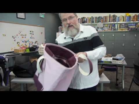 Board Game Bags with Scott