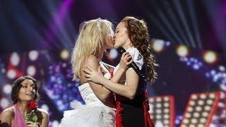 Video Finnish girls kiss in Eurovision 2013 - Krista Siegfrids (Marry Me) 18.05.2013 download MP3, 3GP, MP4, WEBM, AVI, FLV Agustus 2018