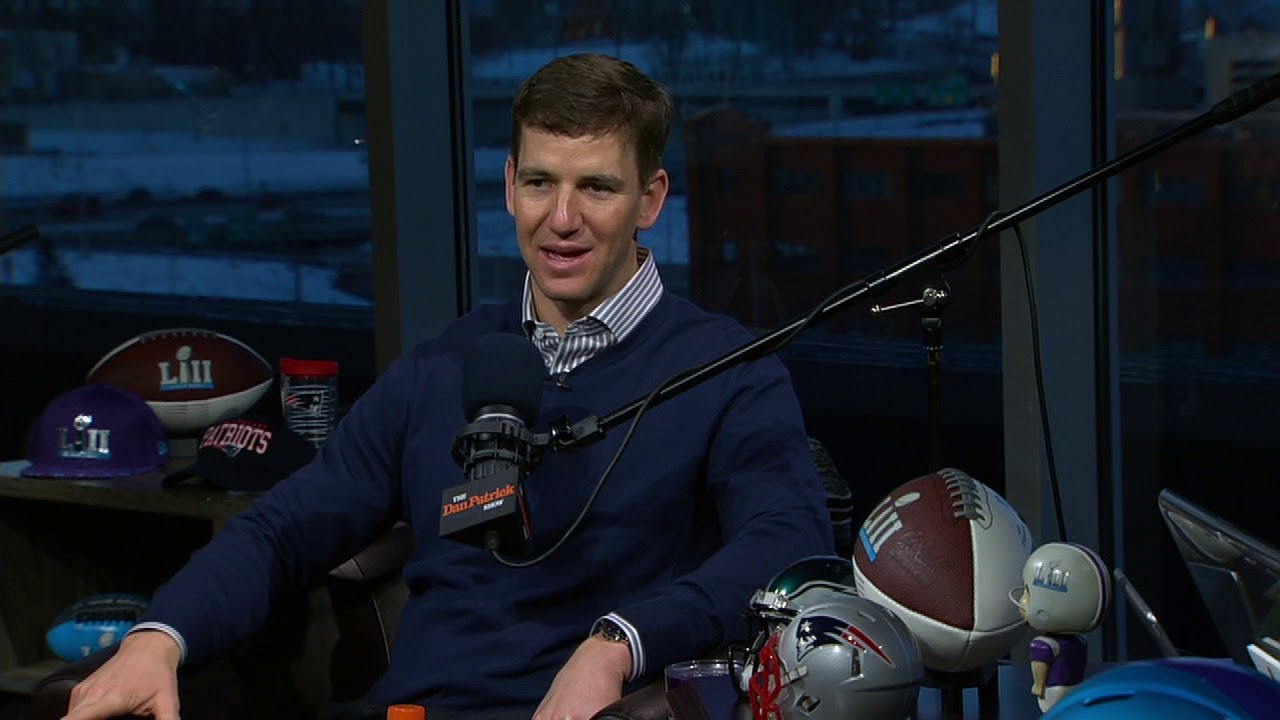 Giants qb eli manning eagles have the blueprint to beat patriots giants qb eli manning eagles have the blueprint to beat patriots the dan patrick show 2218 malvernweather Gallery